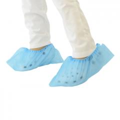 Cobre sapatos PP, azul